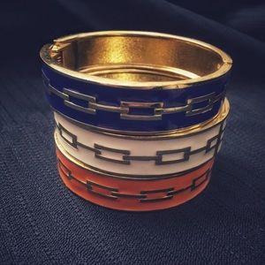 Jewelry - Gold bangles. Go Gators!